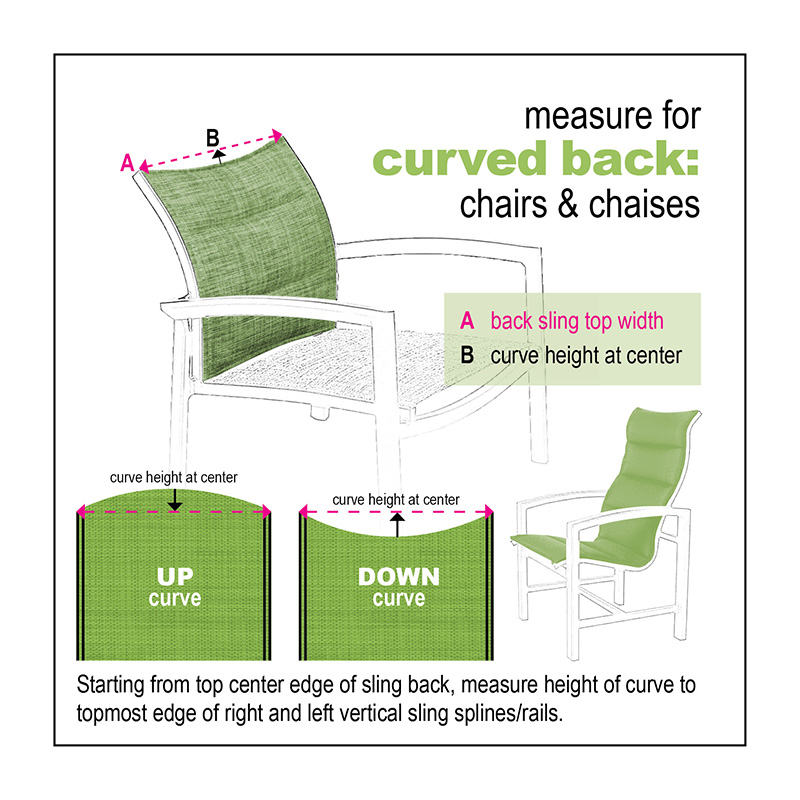 Curved Back Measure