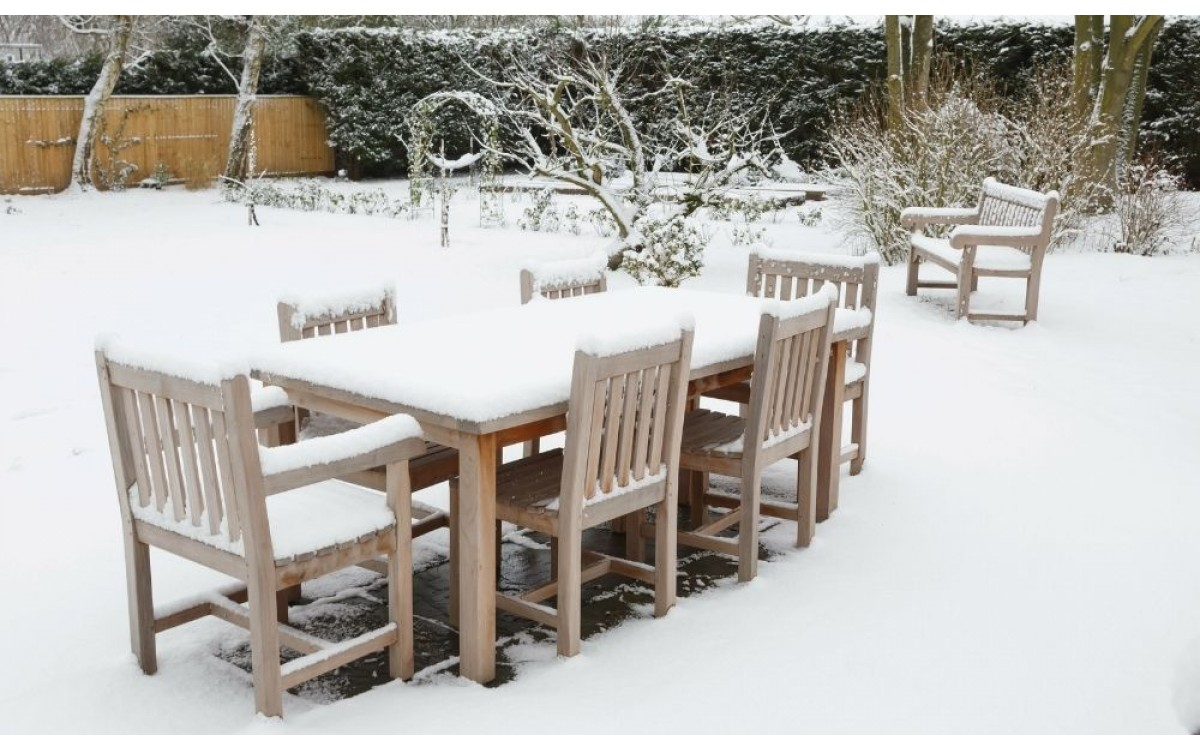 How To Properly Store Your Patio Furniture for Winter
